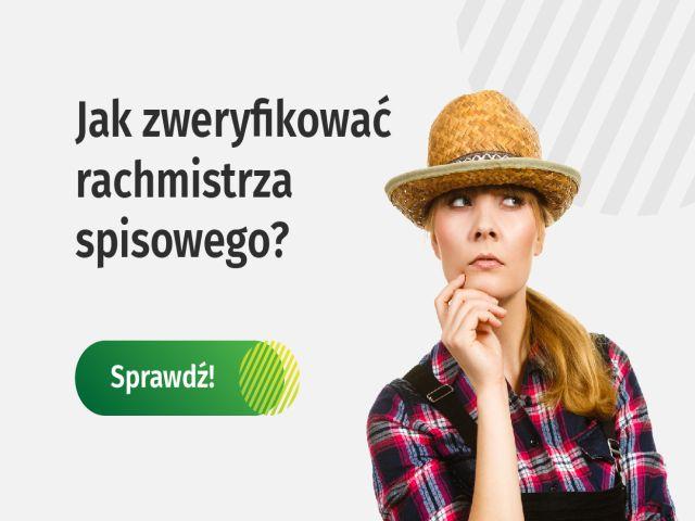 Ilustracja do informacji: SPIS ROLNY 2020 - INFORMACJA DODATKOWA DLA ROLNIKÓW