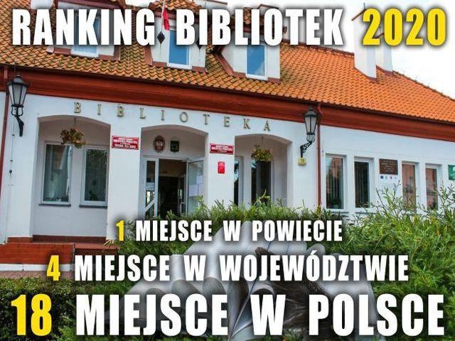 Ilustracja do informacji: KORSZEŃSKA BIBLIOTEKA W RANKINGU BIBLIOTEK 2020
