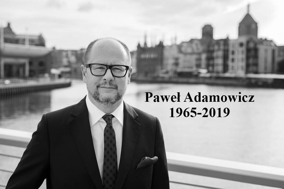 Ilustracja do informacji: Oddajmy cześć zmarłemu Prezydentowi Gdańska