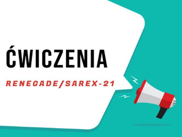 Ilustracja do informacji: ĆWICZENIA RENEGADE/SAREX 21