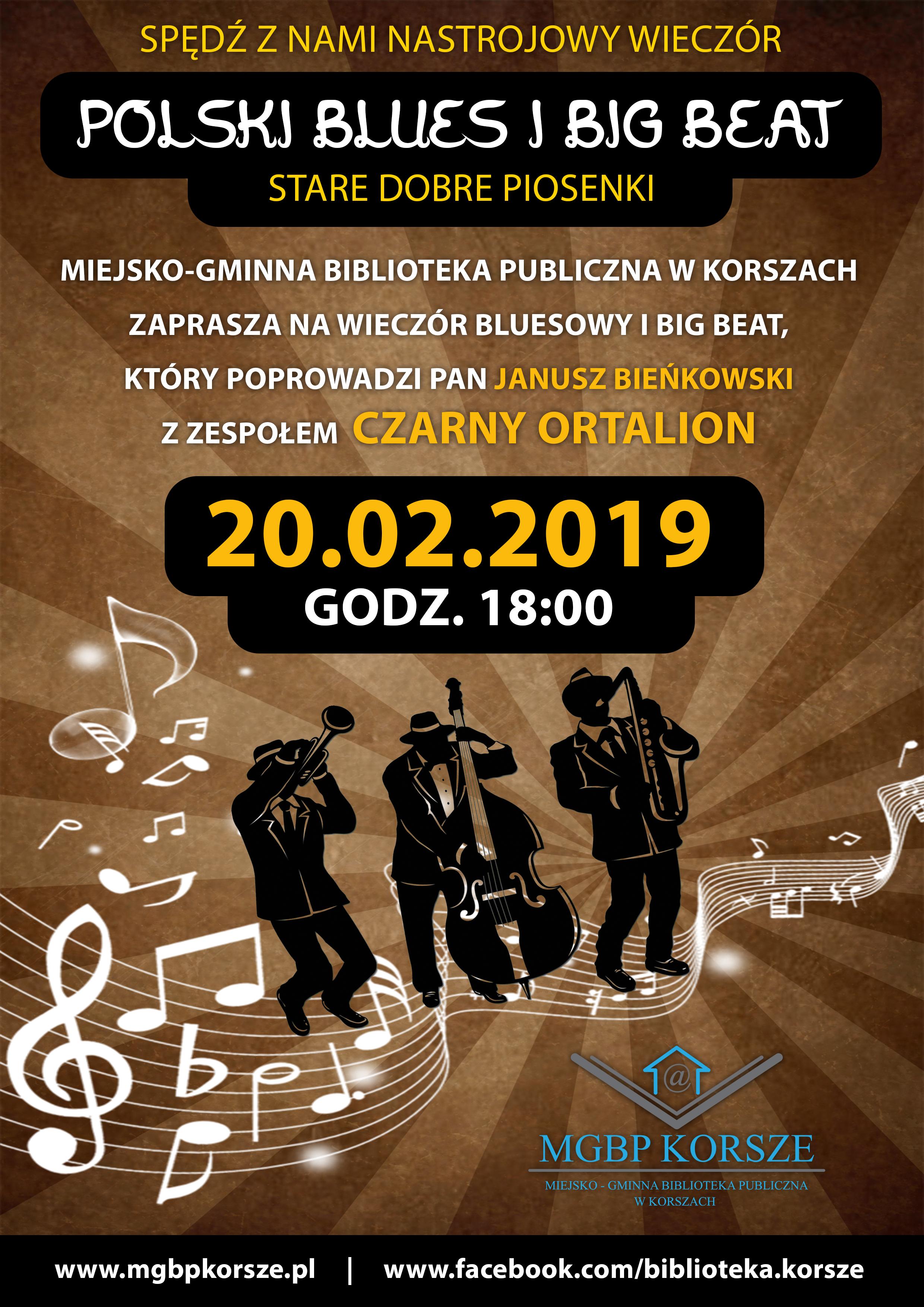 Ilustracja do informacji: POLSKI BLUES I BIG BEAT - STARE DOBRE PIOSENKI