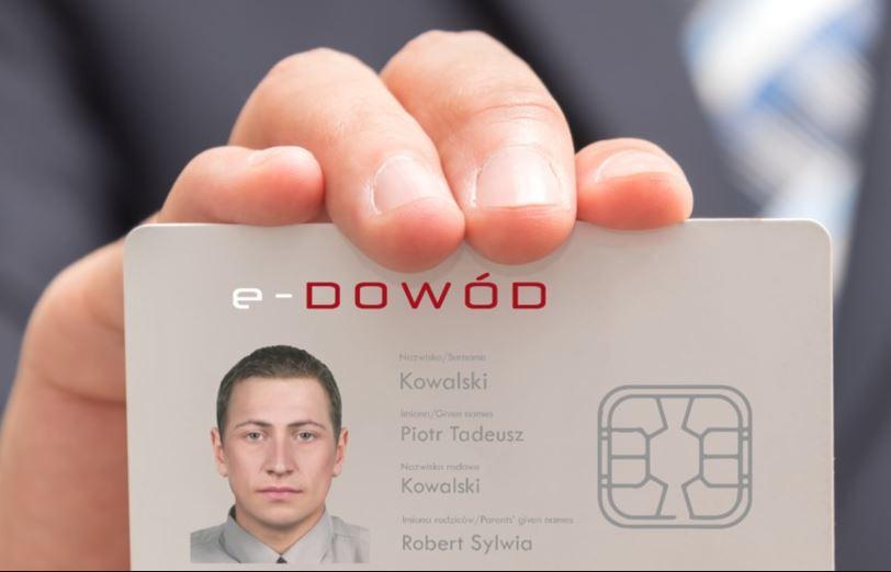 Ilustracja do informacji: NOWY E-DOWÓD OD 4 MARCA