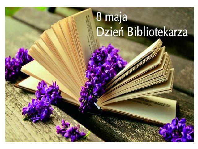 Ilustracja do informacji: 8 MAJA-DZIEŃ BIBLIOTEKARZA I BIBLIOTEK