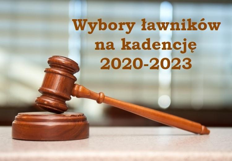 Ilustracja do informacji: WYBORY ŁAWNIKÓW NA KADENCJĘ 2020-2023