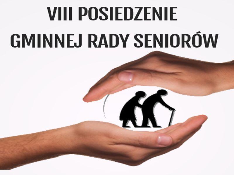 Ilustracja do informacji: VIII POSIEDZENIE GMINNEJ RADY SENIORÓW