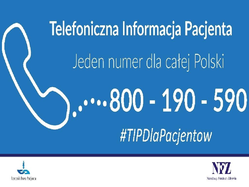 Ilustracja do informacji: WSPARCIE PSYCHOLOGICZNE W RAMACH TELEFONICZNEJ INFORMACJI PACJENTA